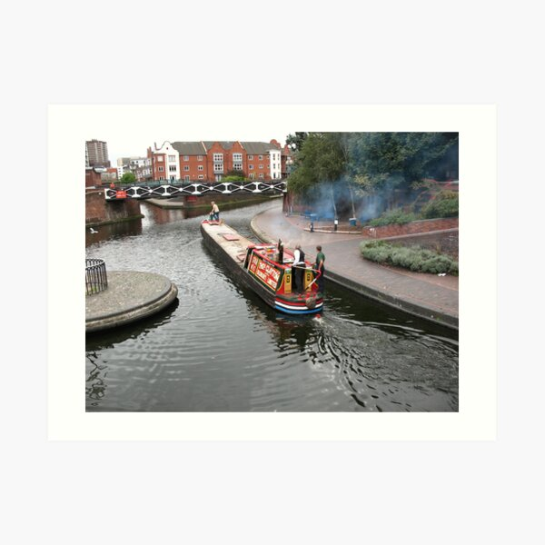 Birmingham Gas Street Basin (5082) Art Print