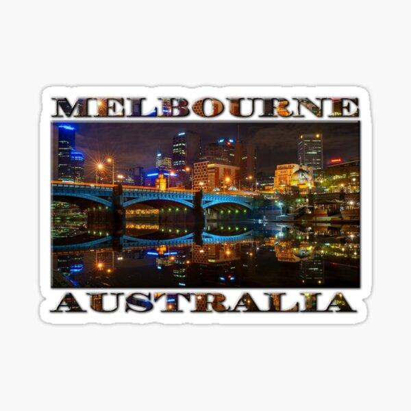 Reflective City Sticker