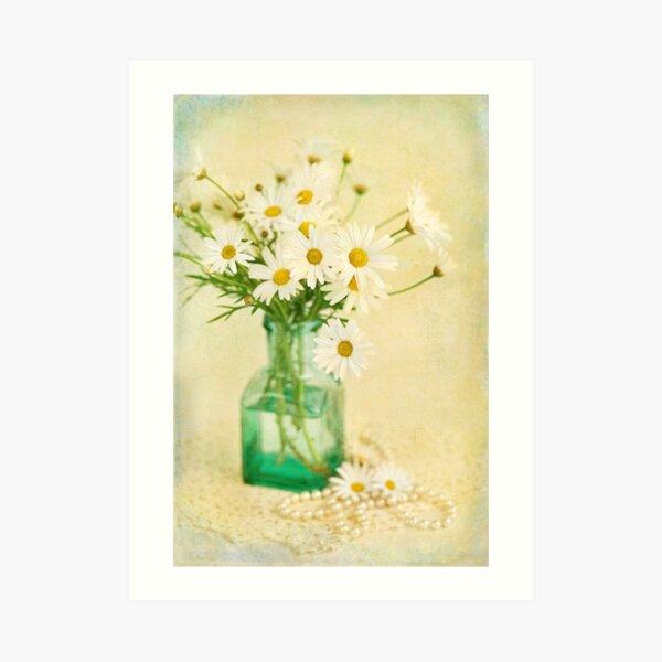 Still Life #33 - Daisies Art Print