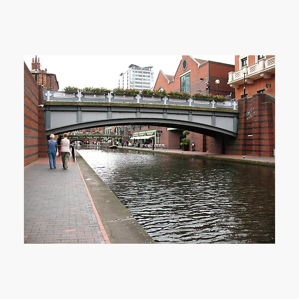 Birmingham Gas Street Basin (5087) Photographic Print