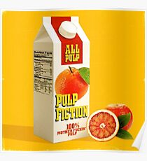 pulp fiction juice box Poster