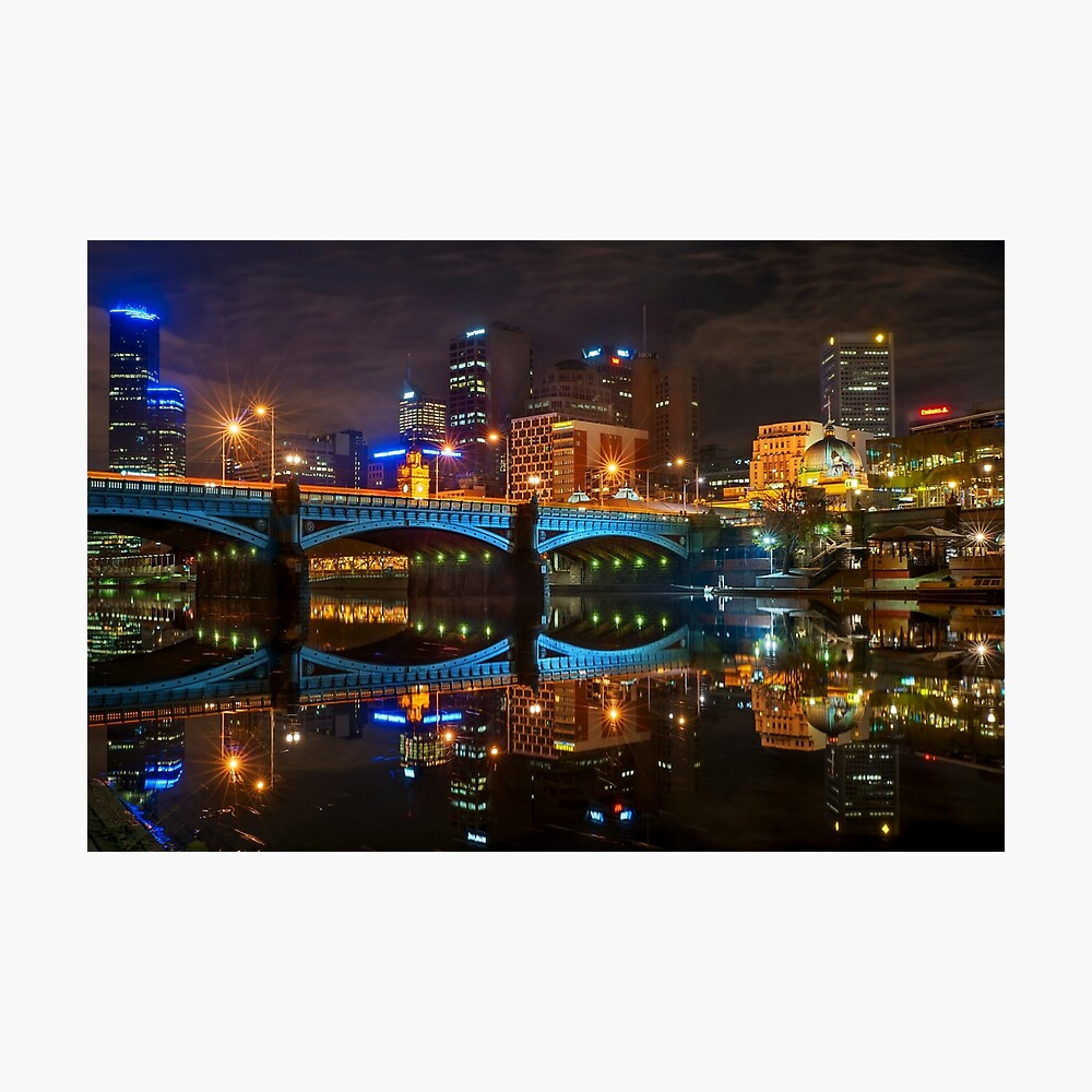 Reflective City II Photographic Print