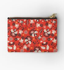 Victorian floral | red Studio Pouch