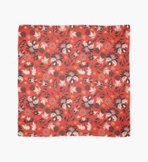 Victorian floral   red Scarf