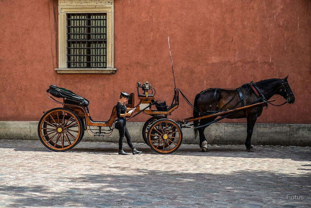 The carriage by Fotus