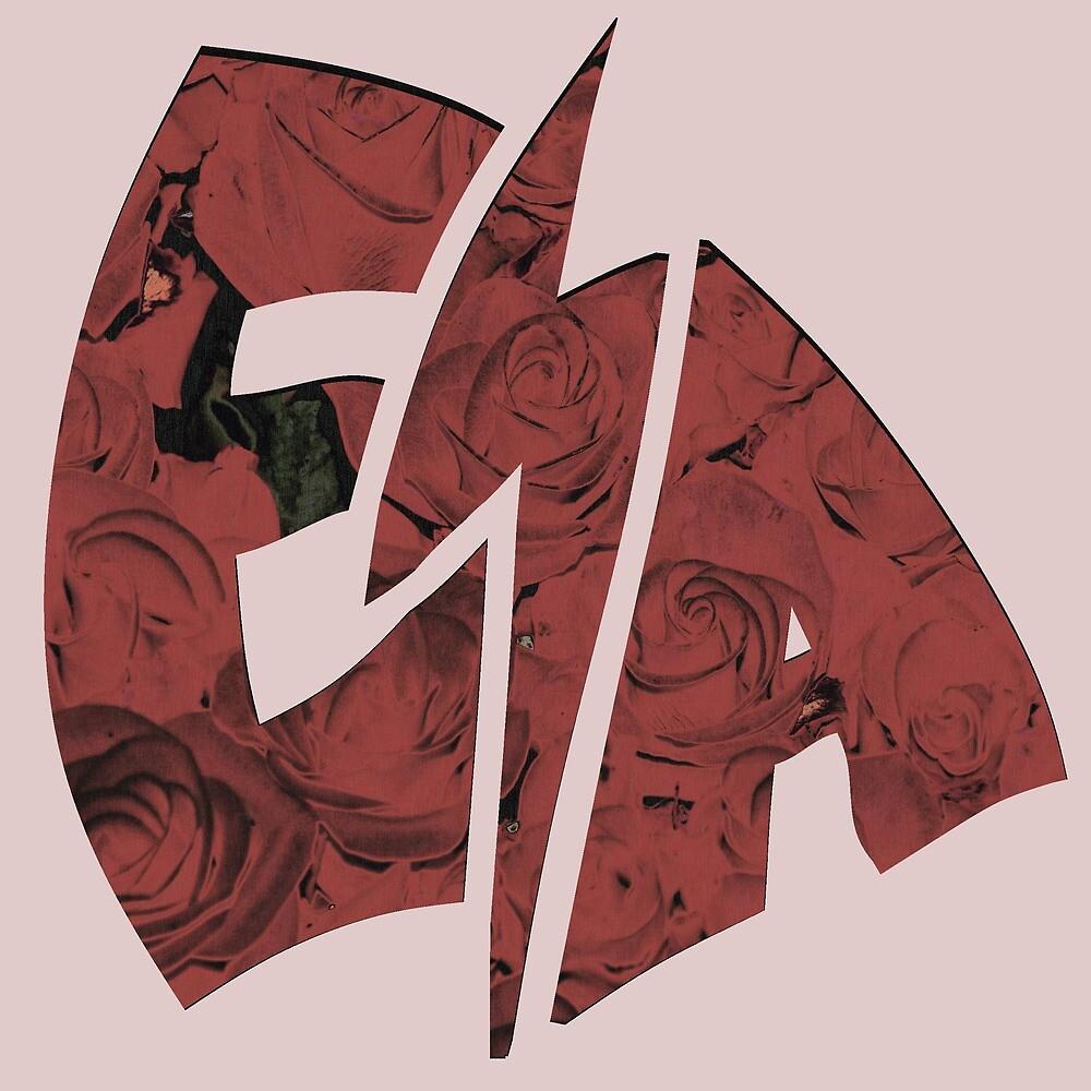 EShocka Rose Shock Logo by BarnGangStudios