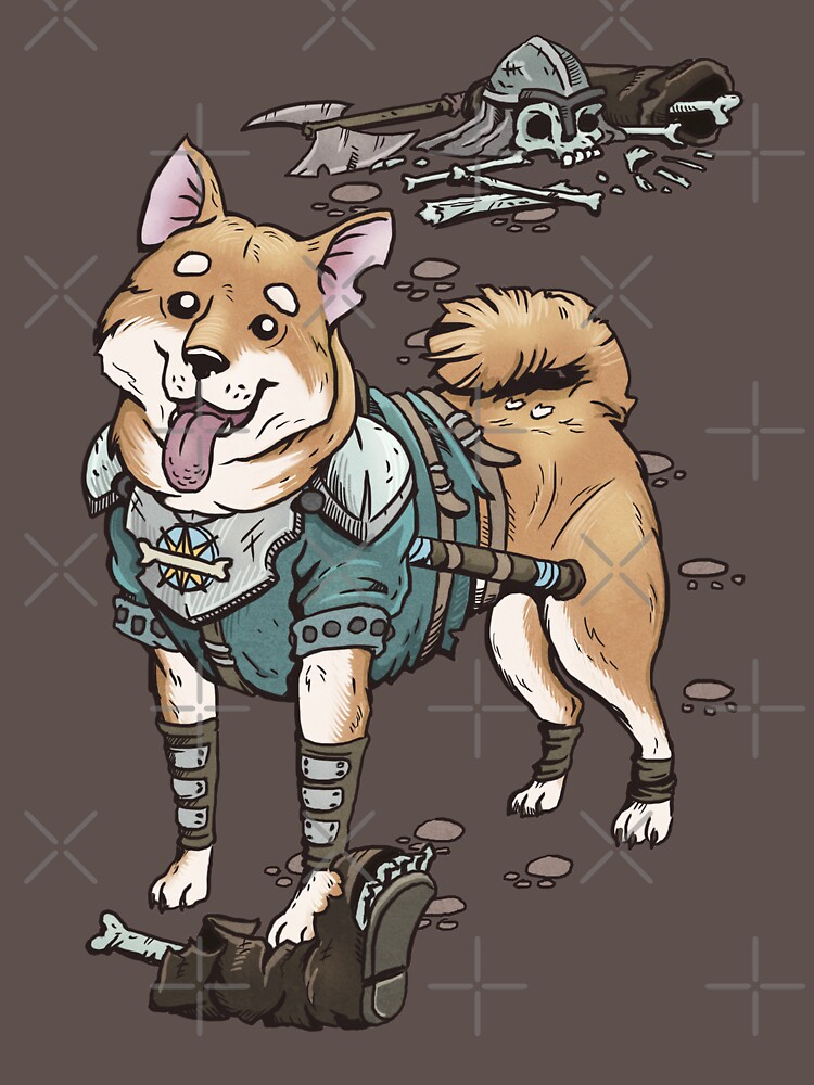 Cute Akita Inu Dog | Cleric | RPG by PathOfPixels