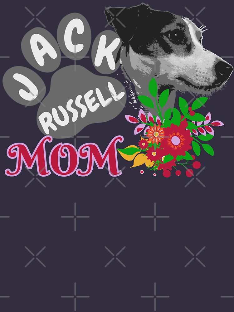 Jack Russell Terrier Mom Shirts by BCreative4U