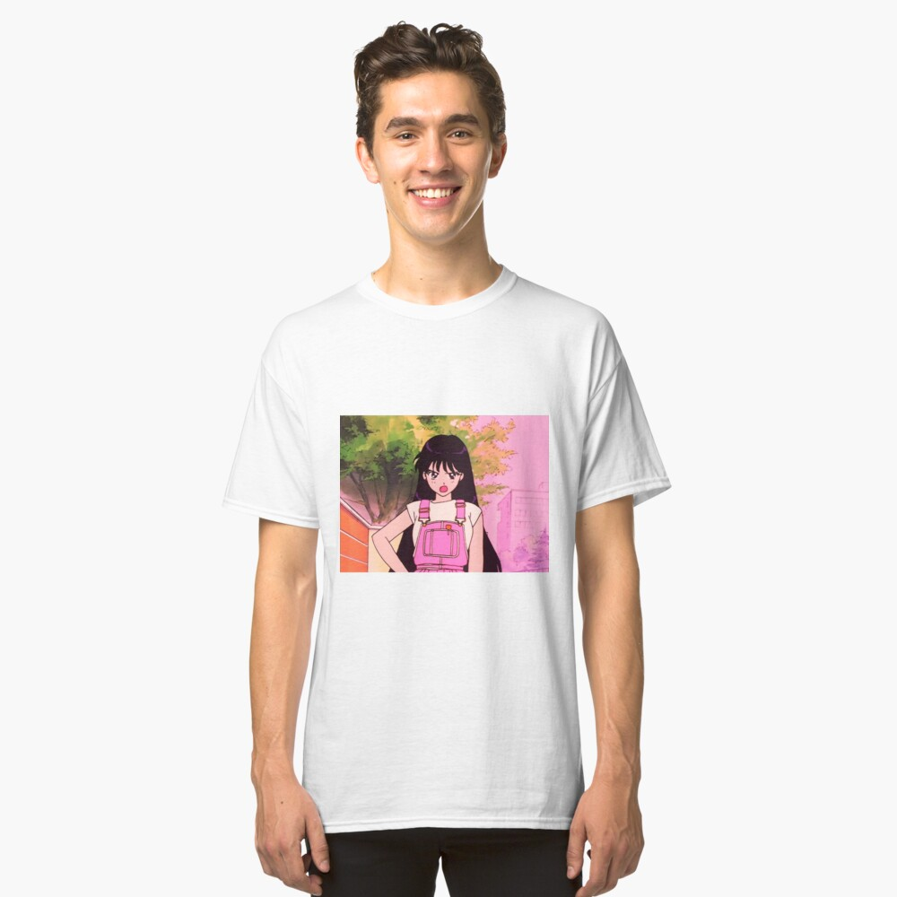 cute anime girl Classic T-Shirt Front