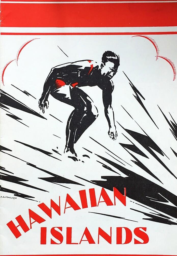 Vintage hawaiian islands  by kenziechadwell