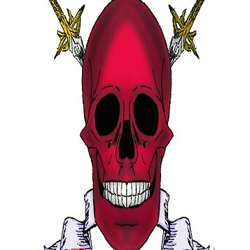 Red Skull by DrkHikari