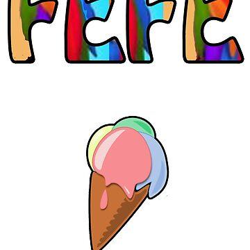 FEFE ICE CREAM by FabloFreshcoBar