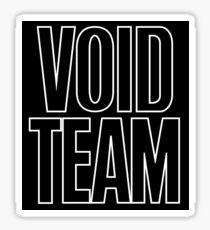RL Grime - VOID TEAM Sticker