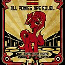ALL PONIES ARE EQUAL by kiriska
