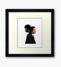 Pulp Fiction Movie Tee - Vincent & Jules Framed Print