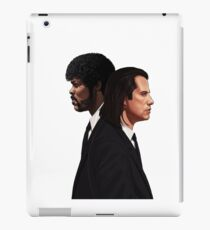 Pulp Fiction Movie Tee - Vincent & Jules iPad Case/Skin