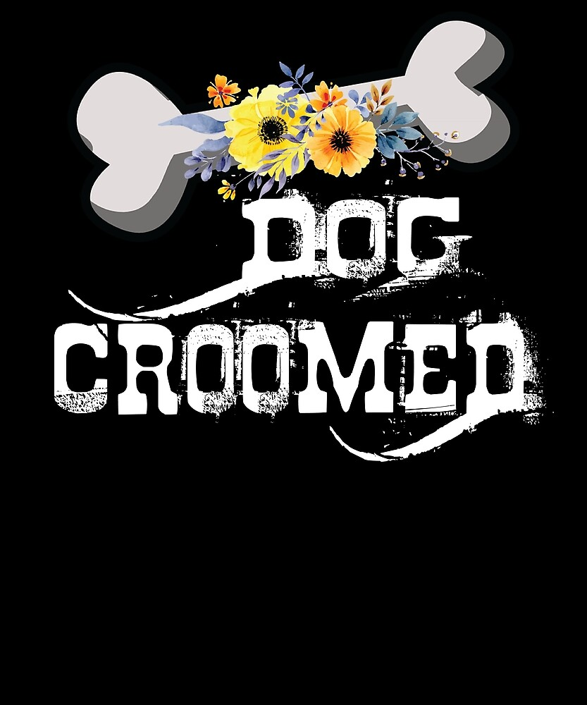 Dog groomer cute pet dog grooming T Shirt by chihai
