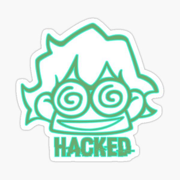 """""""Hacked"""" Sticker"""