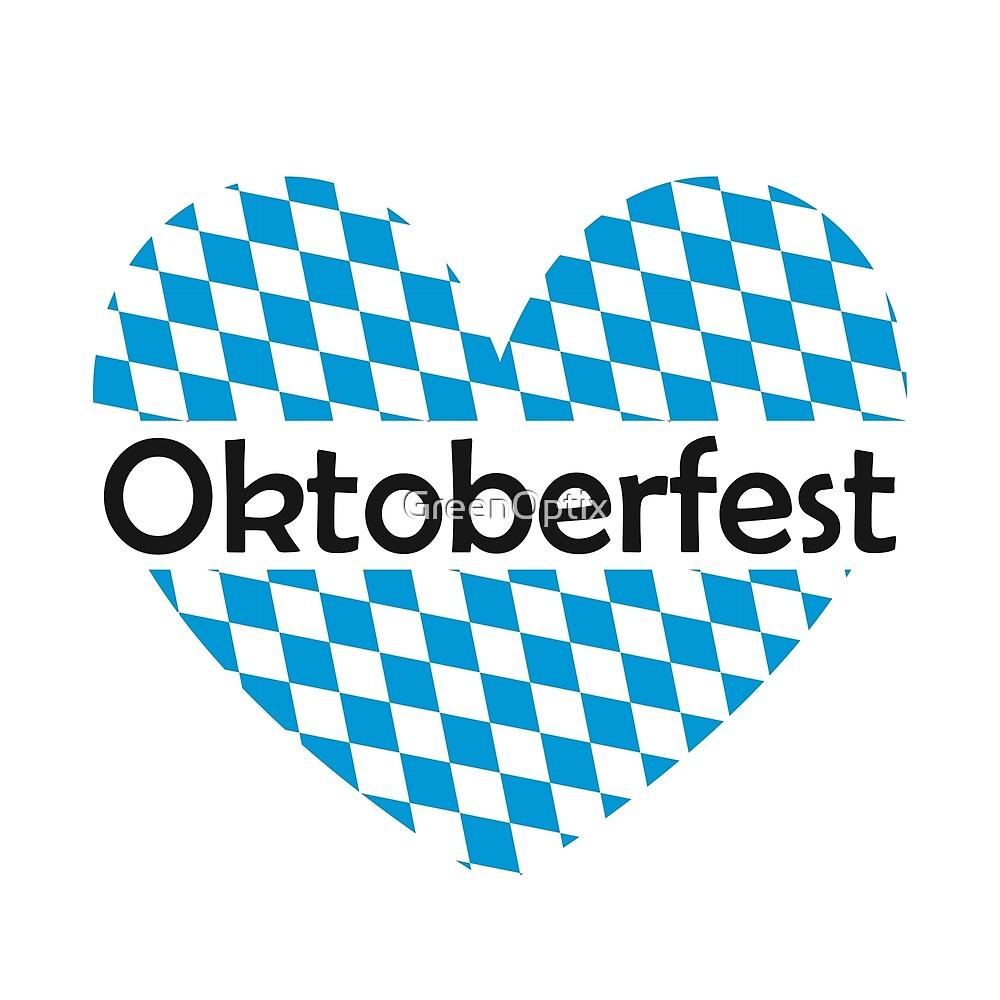 Bavarian Flag | Oktoberfest by GreenOptix