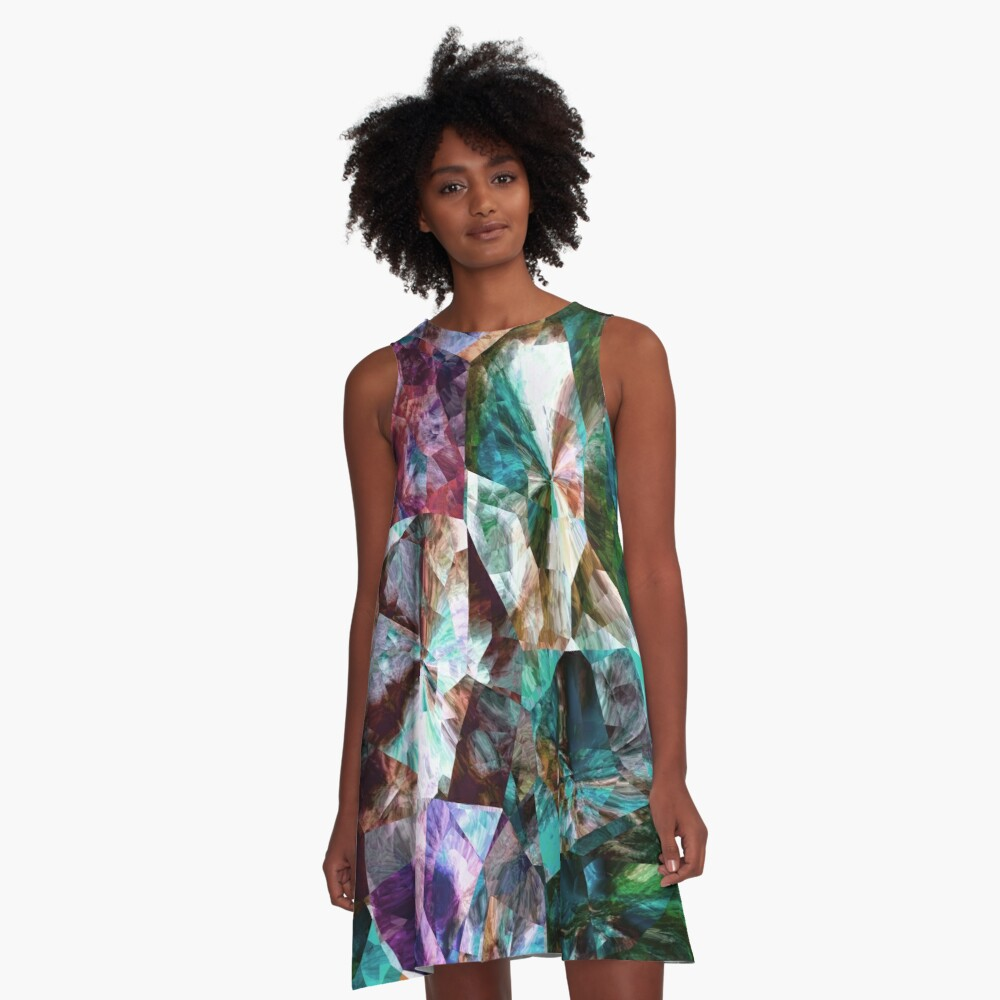 Stand Out In The Crowd NOW 15. A-Line Dress Front