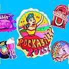 ROCKABILLY ROLL by LizSelleyArt