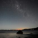 The Milky Way lights up the sky above Matarangi by Paul Mercer