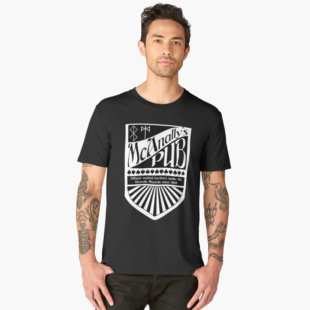 Mcanallys pub Men's Premium T-Shirt Front