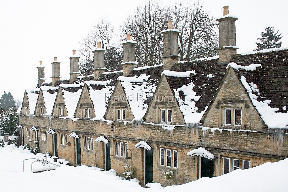 'Christmas Almshouses' by David R Murphy