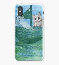 The Owl and the Pussycat iPhone Case/Skin
