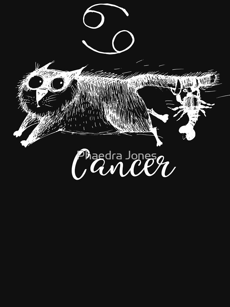 Funny Cancer Cat Zodiac July Shirt Birthday Gift by Top10Merch