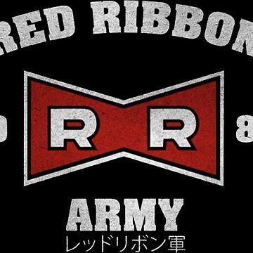RED RIBBON ARMY MERCH by brendacrafty