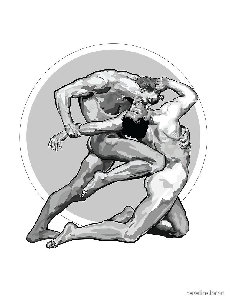 Dante and Virgil  by catalinaloren