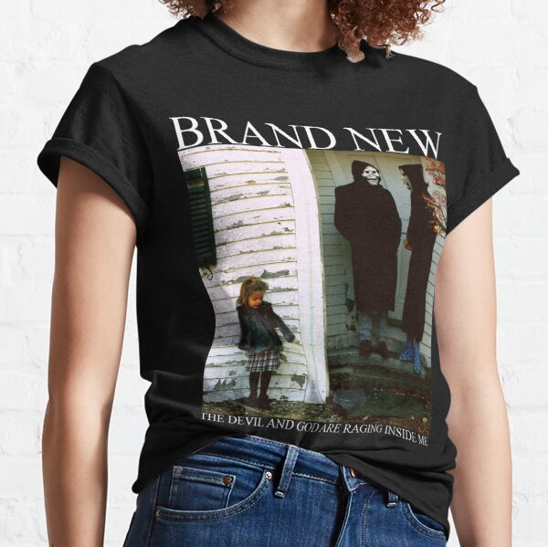 Brand New The Devil and God Are Raging Inside Me Classic T-Shirt