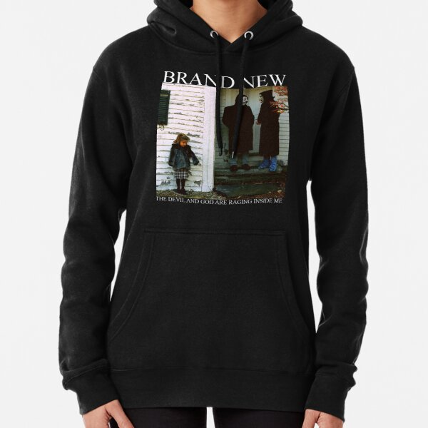Brand New The Devil and God Are Raging Inside Me Pullover Hoodie