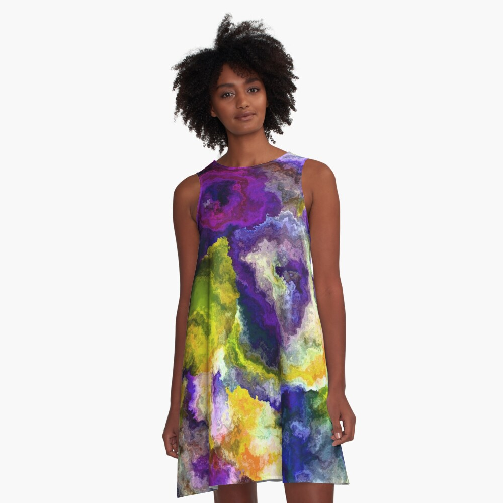 Stand Out In The Crowd NOW 17. A-Line Dress Front