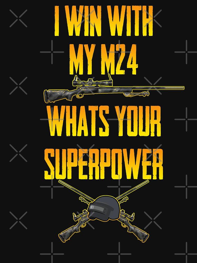 PUBG Meme M24  by itsmwaura