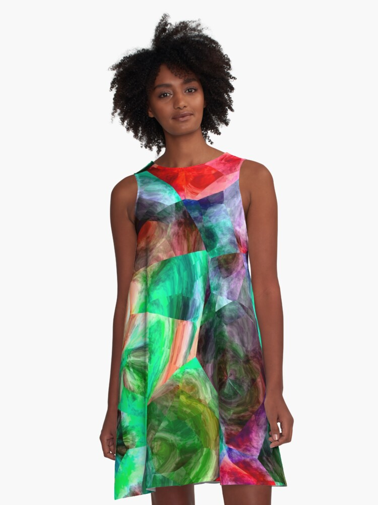 Stand Out In The Crowd NOW 21. A-Line Dress Front
