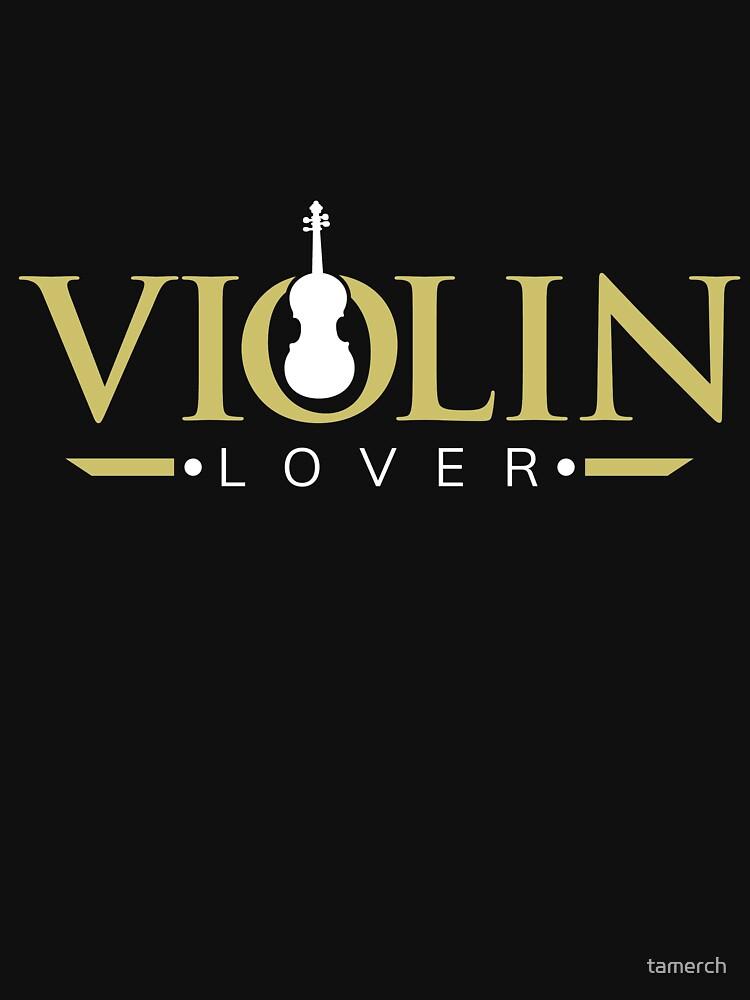 Violin lovers fan musician violinist by tamerch