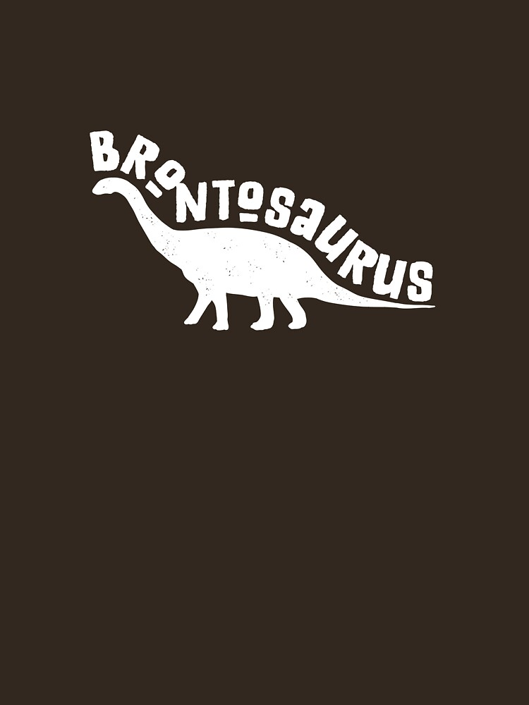 Brontosaurus Shirt Dinosaur Tee For Men Women Boys Girls by artbyanave