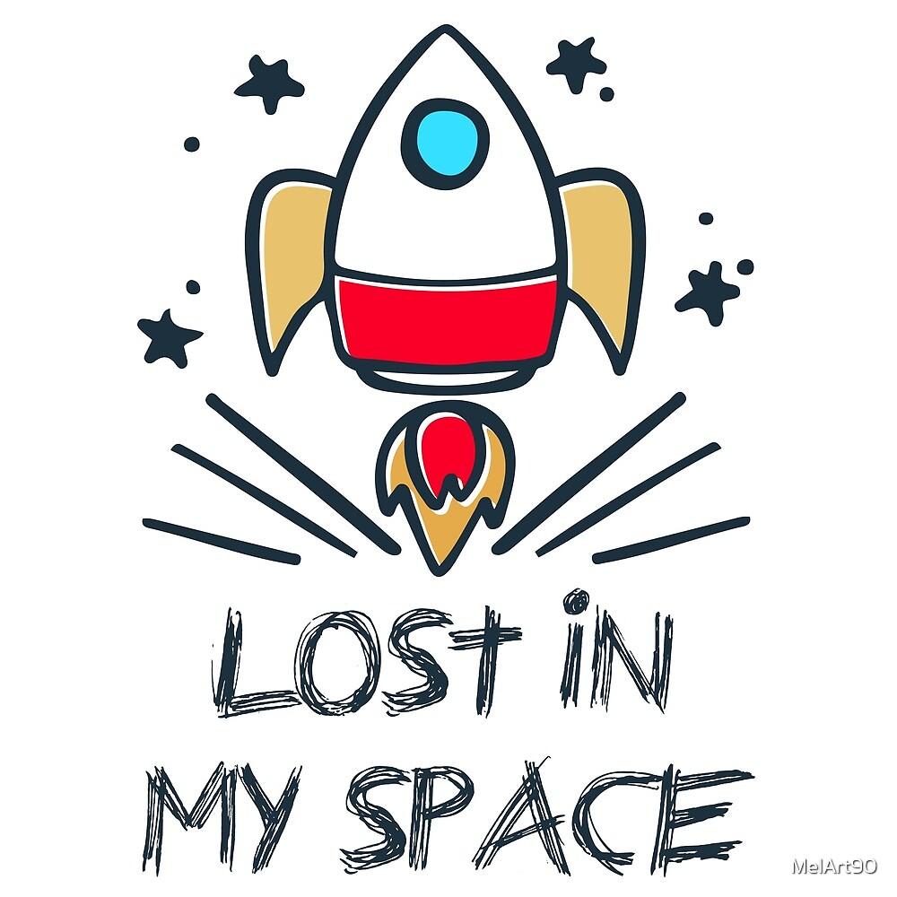 Lost in my space by MelArt90