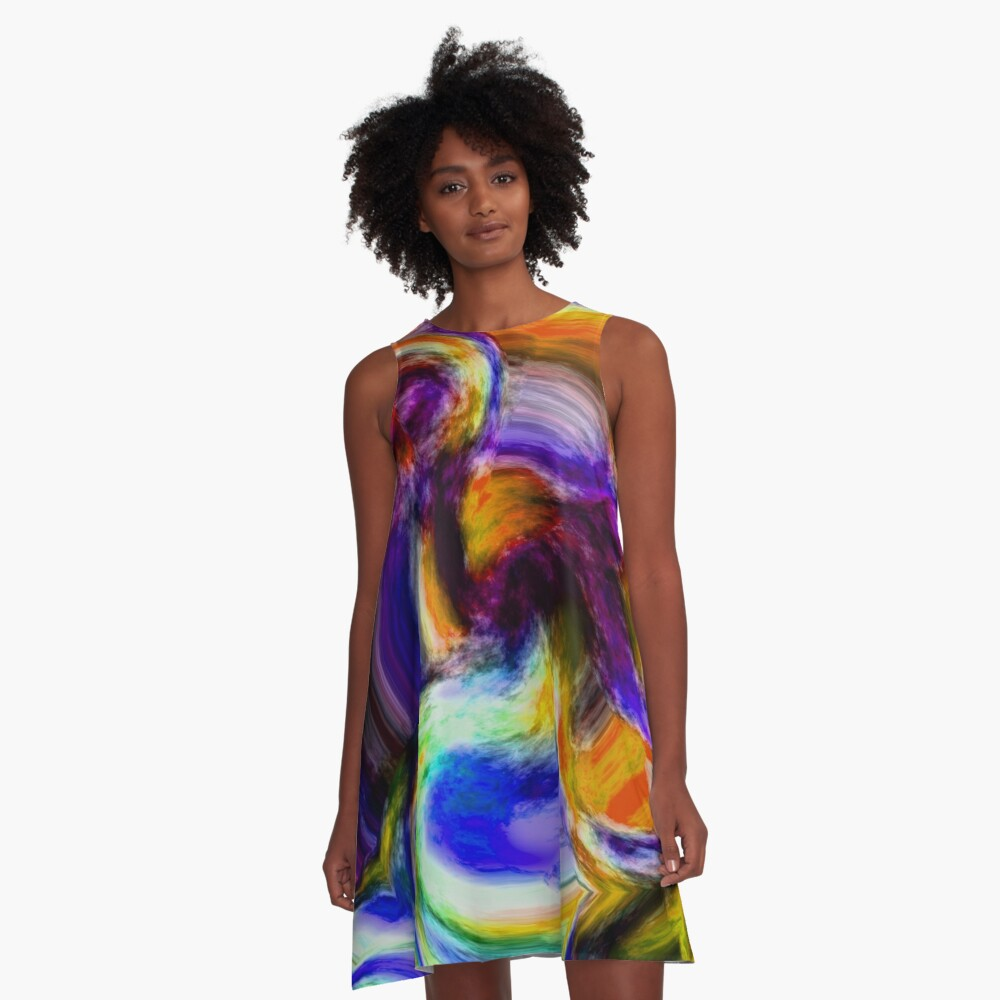 Stand Out In The Crowd NOW 24. A-Line Dress Front
