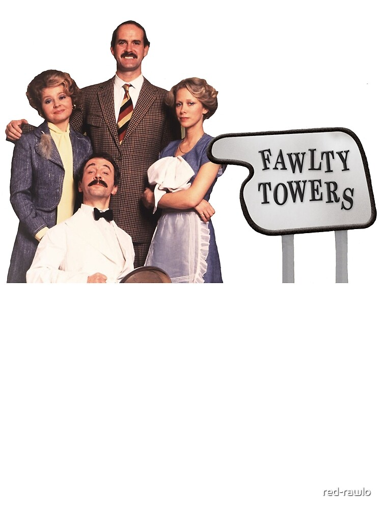 Fawlty Towers Family by red-rawlo