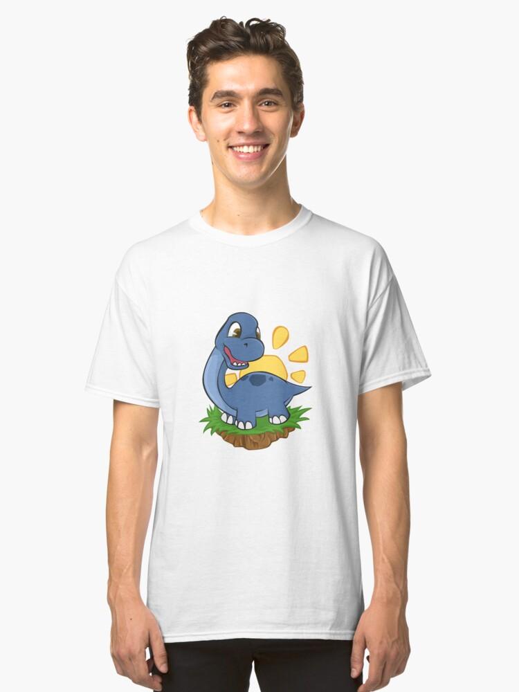 Dinosaur Cute Dino Titanosaurs - Gift Idea Classic T-Shirt Front