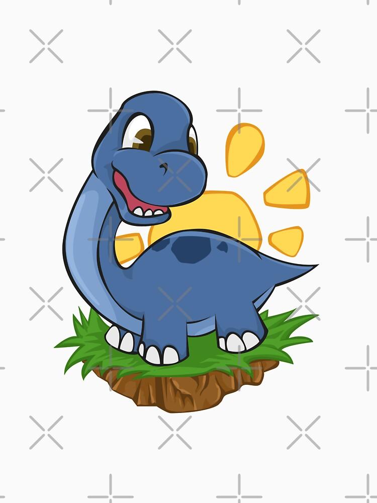 Dinosaur Cute Dino Titanosaurs - Gift Idea by vicoli-shirts