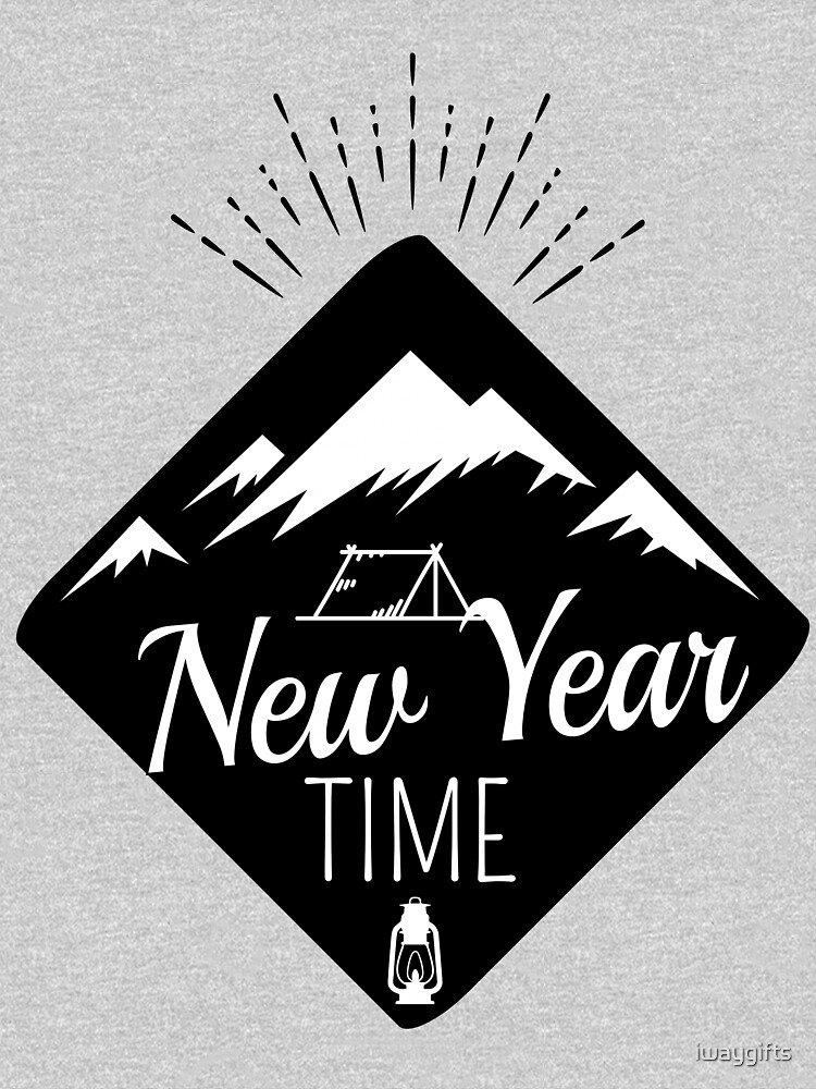 New Year Time Camping  by iwaygifts