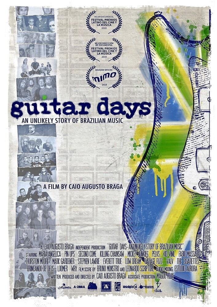 Guitar Days by Caio Augusto Braga