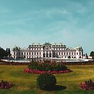 Belvedere Castle Vienna by Monica Carvalho