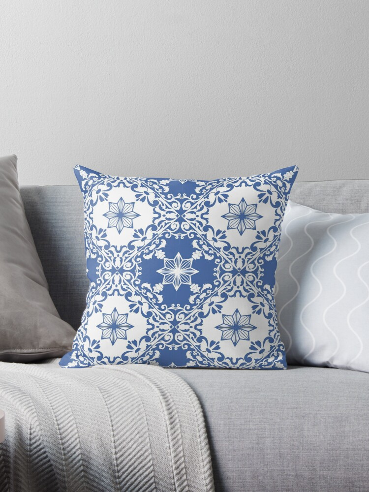Blue Portuguese pattern by XandraM