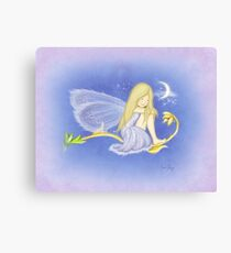 Fernah the Flower Fairy Canvas Print