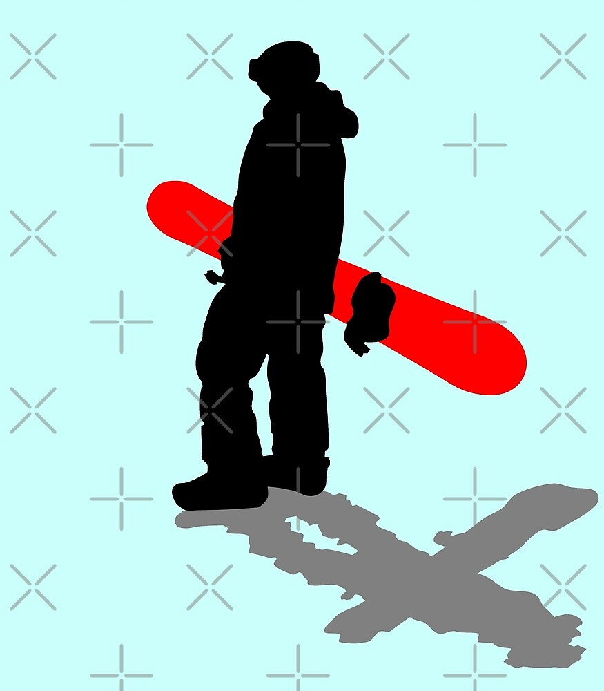 snowboarders by Sibo Miller
